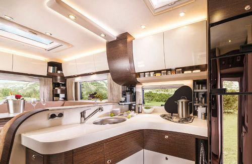 Concorde CRUISER DAILY & EUROCARGO Küche